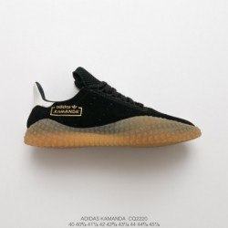 Cq2220 deadstock adidas kamanda avantgarde jogging shoes black gold plantation crepe after launching adidas prophere