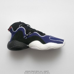 Aq0277 World Premium Adidas Crazy Byw LVL 1 Crazy Feet You Wear Generation Improved Ultra Boost Edition Basketball-Shoes navy b