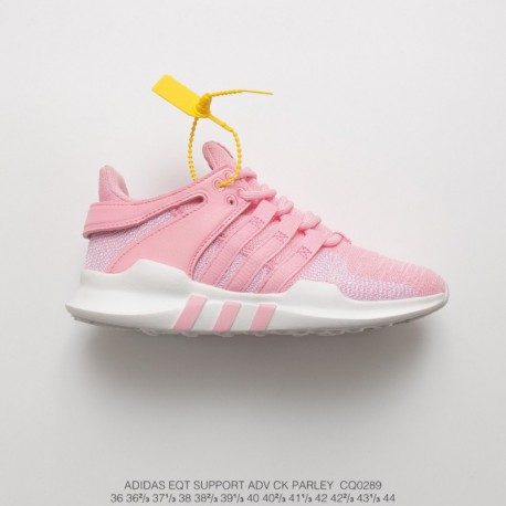 Cq0289 FSR UNISEX Adidas EQT Support Adidas V Ck Parley Set Knitting Collection All-Match shoes white powder