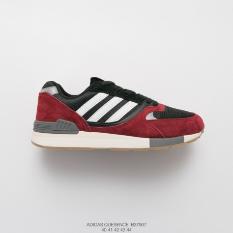 B37907 FSR Mens Adidas Quesence Men Vintage Casual Racing Shoes
