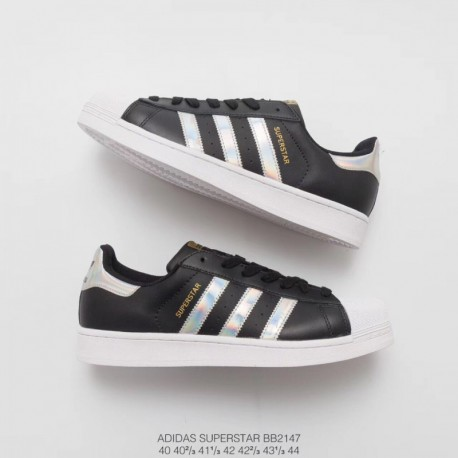 new style 4ba94 1134f New Sale Bb2147 upper adidas shell head black and white laser classic look