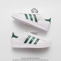 Adidas-Superstar-Full-White-Adidas-Superstar-Original-Black-And-White-BB9212-official-website-synchronous-autumn-and-winter-Dea