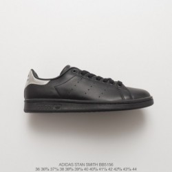 Adidas-Stan-Smith-Black-Silver-Adidas-Stan-Smith-New-BB5156-New-ColorWay-Outstanding-Deadstock-Adidas-Smith-New-Black-Silver-Co