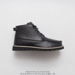 G13320 shoppe synchronized adidas ransom pirate double cutters crossover black upper leather men's boots