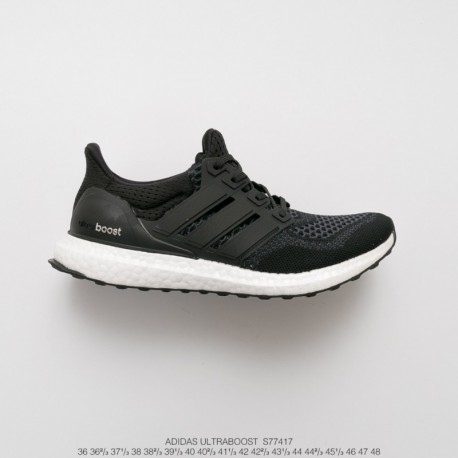 S77417 Premium Ultra Boost UNISEX Adidas Running Ultra Boost 1.0 Ultra Boost All-Match high-Elastic breathable flyknit jogging