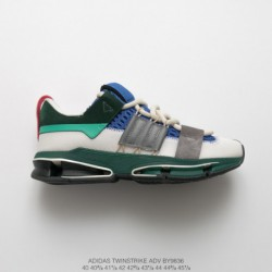 By9836 Classic Remaster Adidas Consortium Twinstrike Adidas V A3 Outsole Collection Deconstruction Vintage Jogging Sneaker Gree