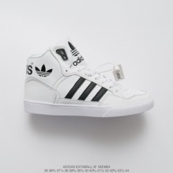 Adidas-Extaball-Shoes-White-And-Black-M20864-Upper-FSR-Adidas-Extaball-W-Casual-High-Sports-Skate-shoes