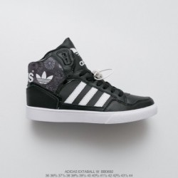 Adidas-Originals-Extaball-Black-High-Top-Sneakers-BB0692-Upper-FSR-Adidas-Extaball-W-Casual-High-Sports-Skate-shoes
