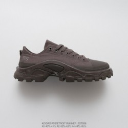 B27938 FSR Adidas IDAS X Raf SIMONS DETROIT Runner Duck Collection Outdoor Hiking Martin Shoes