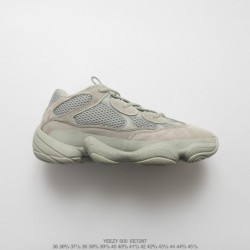 Ee7287 FSR UNISEX Kanye West X Adidas Yeezy 500 Salt Vintage Dad Sneaker All-Match jogging shoes