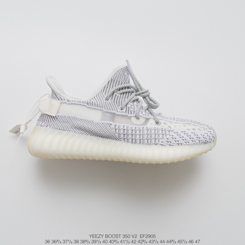 68846600d Ef2905 Get UNISEX Yeezy Design Adidas Yeezy 350v2 Static Collection  All-Match with transparent material ...
