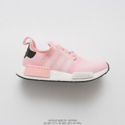 B37648 FSR Womens Adidas NMD-R1 classic ultra boost collection factory lacing shandong botanical ultra boost outsole comfortabl