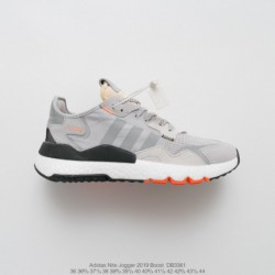 DB3361 UNISEX Adidas Nite Jogger 2019 Boost Vintage Racing Shoes Factory Lacing Material Factory Lacing Outsole Private Single