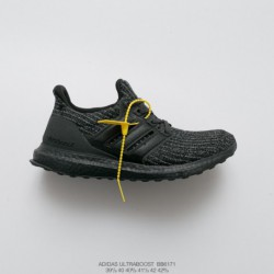 Adidas-Ultra-Boost-40-Triple-Black-Bb6171-Adidas-Ultra-Boost-Grey-Off-White-BB6171-High-cost-performance-Virgil-Abloh-Designer
