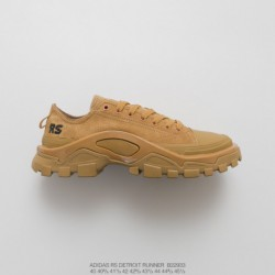 B22933 FSR Adidas IDAS X Raf SIMONS DETROIT Runner Duck Collection Outdoor Hiking Martin Shoes