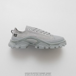 B22937 FSR Adidas IDAS X Raf SIMONS DETROIT Runner Duck Collection Outdoor Hiking Martin Shoes