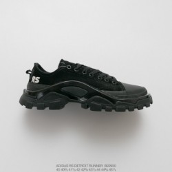 B22930 FSR Adidas IDAS X Raf SIMONS DETROIT Runner Duck Collection Outdoor Hiking Martin Shoes
