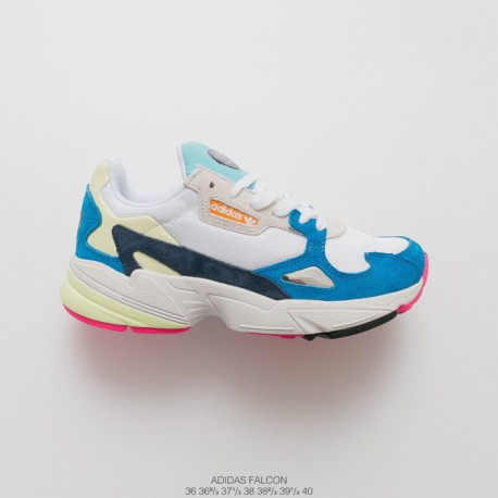 FSR Dad Sneaker New Adidas Falcon W Falcon Collection Vintage All-Match dad sneaker jogging shoes