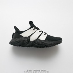 B37462 Mens FSR Adidas Originals Prophere Hedgehog Set Footknit All-Match jogging shoes black and white