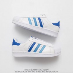 Adidas-Superstar-Look-Feminino-Adidas-Superstar-Look-Alike-Shoes-AQ5371-Upper-Adidas-Shell-Head-Gradient-Blue-Classic-Look