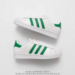 S81017 upper adidas shell head white green stan smith classic look