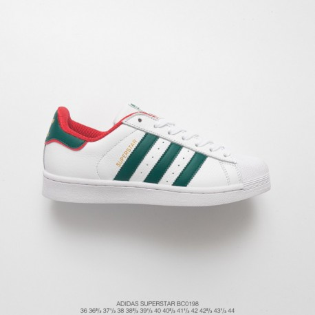 Bc0198 FSR UNISEX Adidas UNISEX 2018 Autumn And Winter Deadstock Superstar Shellfish Casual Skate Shoes