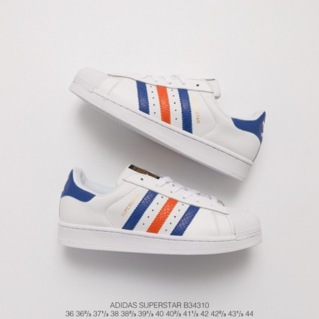 adidas superstar blue red