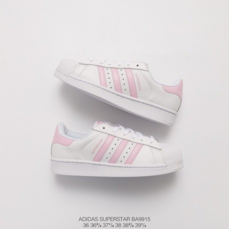 new product 5eda0 bf6a7 New Sale Ba9915 upper adidas shell head white powder classic look