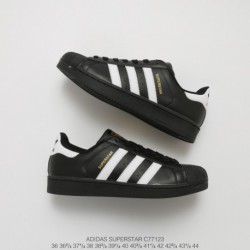 Adidas-Superstar-Black-White-And-Gold-Black-White-And-Gold-Adidas-Superstars-C77123-Upper-Adidas-Shell-Head-Black-and-White-Gol