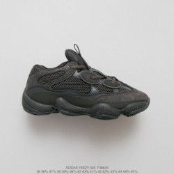 F36640 cost-effective Kanye West X Adidas Yeezy 500 Vintage Dad Sneaker All-Match jogging shoes