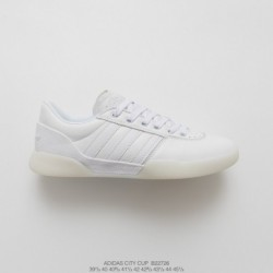 B22726 mens adidas city cup mens whole white skate board shoes