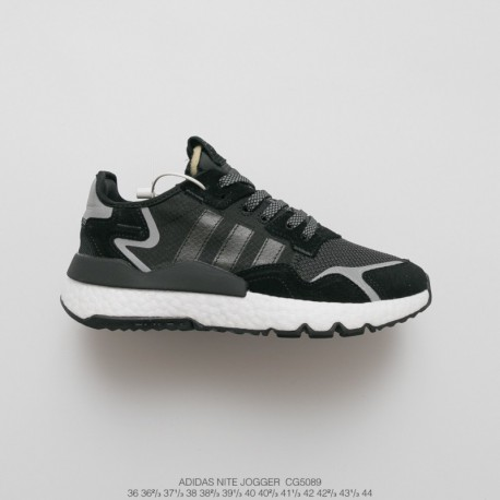 Adidas Nite Jogger,CG5089 UNISEX Adidas Nite Jogger 2019 Boost Vintage Racing Shoes Factory Lacing Material Factory Lacing OUTS