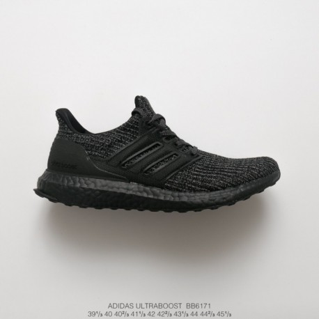 0ab397c49c62e New Sale Bb6171 adidas ultra boost 4.0 ultra boost material jogging shoes  collection black warrior