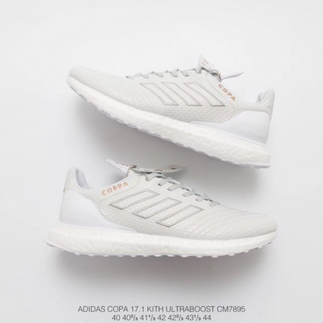 91794d119a995 New Sale Adidas KITH X Adidas Copa Mundial 17 Ultra Boost White Cupro Ultra  Boost Fall Upper Racing
