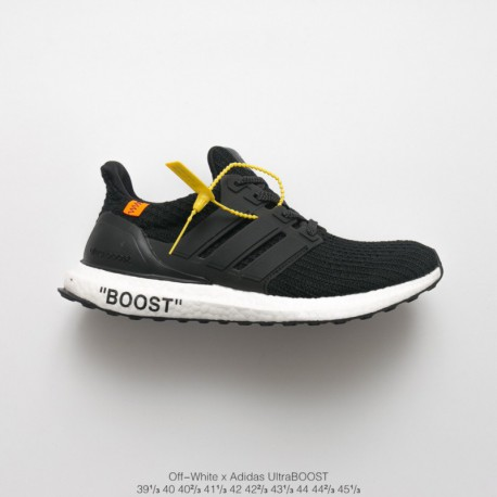 Crossover OFF-WHITE X Adidas Ultra Boost 4.0 Crossover Ultra Boost Trainers Shoes