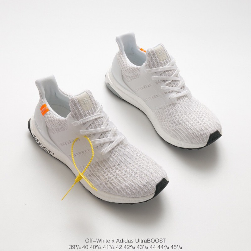 08665f9dbd3ba ... Crossover OFF-WHITE X Adidas Ultra Boost 4.0 Crossover Ultra Boost  Trainers Shoes ...