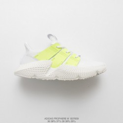 B37659 Womens FSR Adidas Originals Prophere Hedgehog Set Footknit All-Match jogging shoes white fluorescent green
