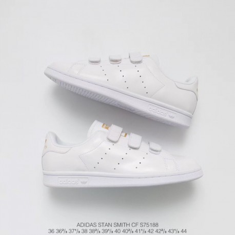 low priced ced97 cd257 Adidas Stan Smith Toddler Velcro,Adidas Stan Smith Femme Velcro,S75188  Upper Adidas Smith Velcro Platinum Adidas Stan Smith CF