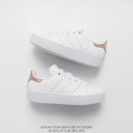 New Sale S32268 Adidas Stan SMITH Bold W Smith Thick Open-toes Shoes  Premium Original Import Leather 3003527fe