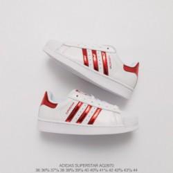 Adidas-Superstar-White-Red-Stripes-Adidas-Superstar-Foundation-White-Red-AQ2870-Upper-Adidas-Shell-Head-White-Red-Glossy-Classi