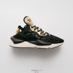 Versace/ VERSACE And Y3 Y-3 Kaiwa Chunky Sneakers Keva Collection Vintage All-Match lightweight dad sneaker