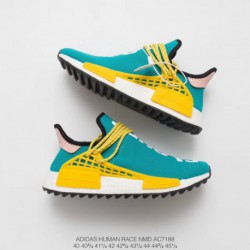 AC7188 Ultra Boost Pharrell Williams Crossover Pharrell Williams X Adidas IDAS Originals NMD Human Race Human Collection Leisur