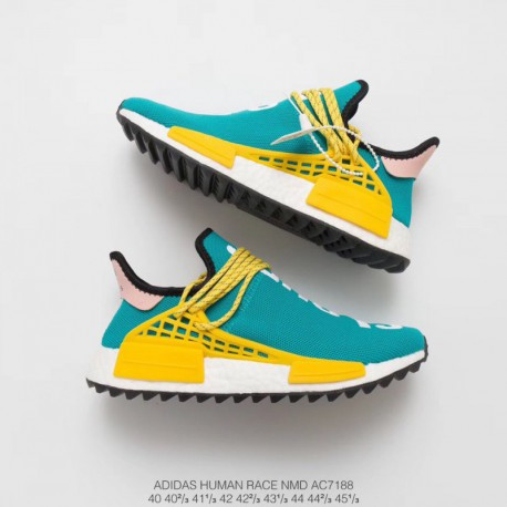 newest 712b5 381ab Adidas Nmd Pharrell Williams Human Race X Supreme Black,AC7188 Ultra Boost  Pharrell Williams Crossover Pharrell Williams x Adid