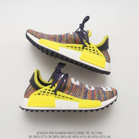 pretty nice c7a77 1db62 Adidas Nmd Pharrell Williams White,AC7360 Limited edition Crossover  ColorWay Adidas Original PW Human Race NMD Pharrell William
