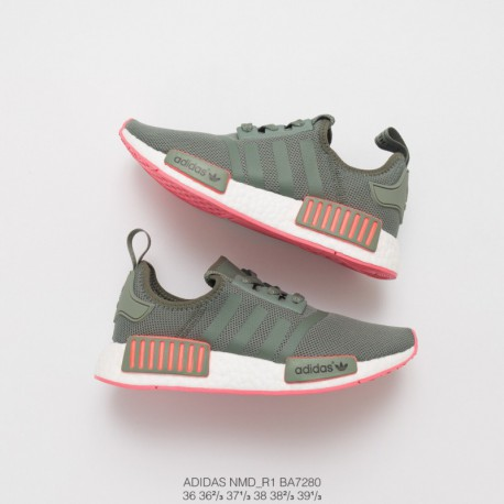 uk availability c2c8d 502c0 Adidas Originals Nmd R1 Green,Adidas Nmd R1 Peach Pink,BA7280 Ultra Boost  Collection Adidas NMD R1 Womens Adidas Originals NMD