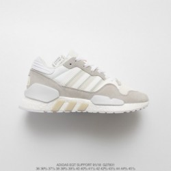 G27831 UNISEX FSR Adidas Originals EQT ZX Boost Deadstock Mixed Vintage All-Match jogging shoes off-White
