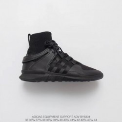 Adidas-Eqt-Black-Shoes-Adidas-Eqt-High-Top-BY8304-Adidas-EQT-Support-Adidas-V-Sock-Mid-Sets-Foot-Socks-High-Street-Jogging-Shoe