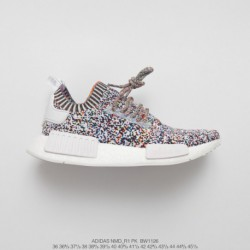 BW1126 Ultra Boost FSR Adidas NMD R1 Primeknit First Generation Knitting All-Match jogging shoes