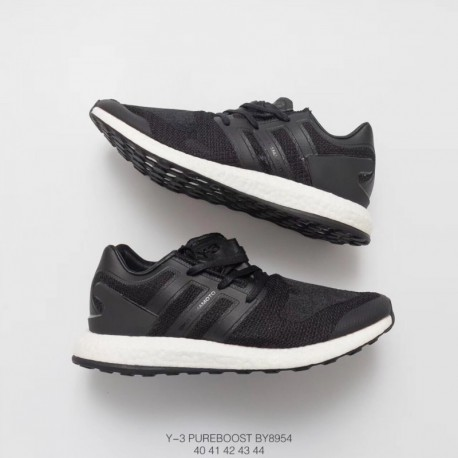 d116f996ef40f New Sale By8954 2017 division adidas y-3 pure knit boost black Navy black  and white